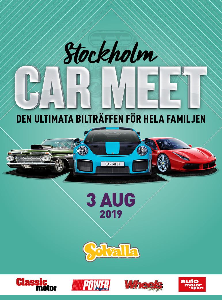 Car Meet stående