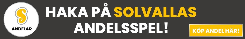 Solvalla andelar NY