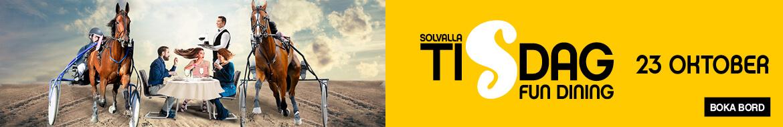 Solvalla Tisdag - Botten